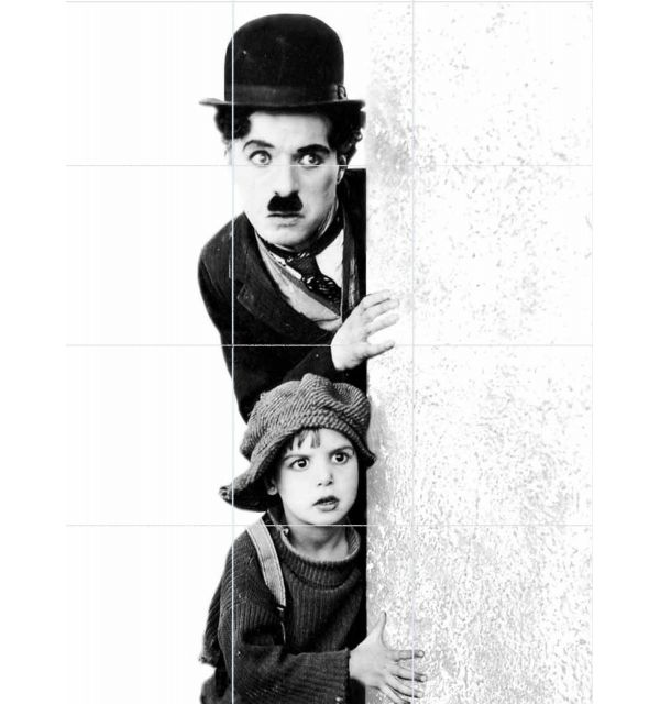 Crédence Carrelage Charlie Chaplin