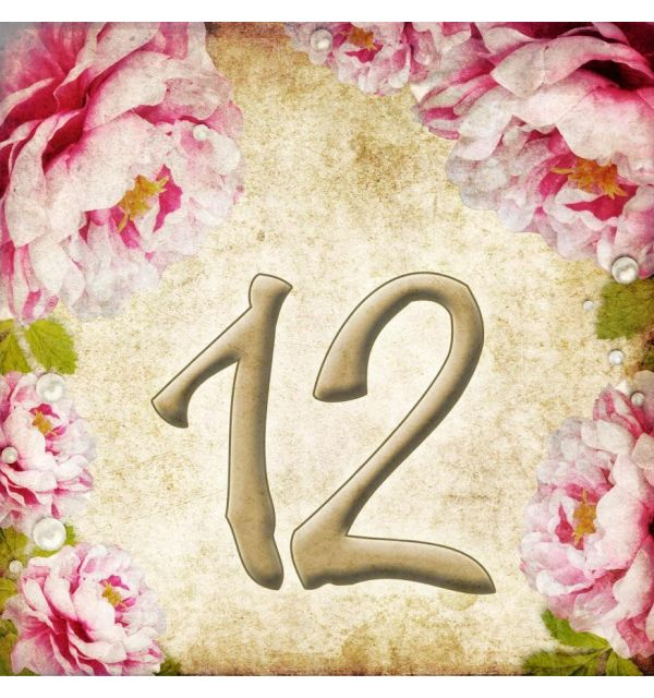 Numéro maison personnalisé