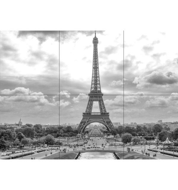 Crédence Carrelage Tour Eiffel