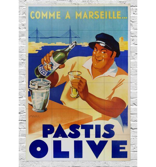 Crédence Pastis Olive