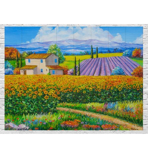 Crédence Paysage Provence