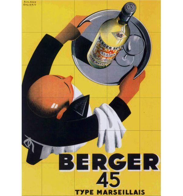 Crédence Vintage Berger