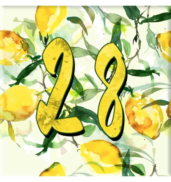 Plaque numéro de maison céramique